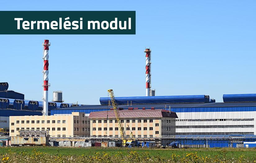 Termelési modul